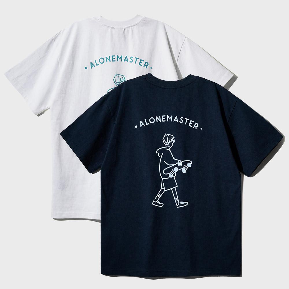 [페플][패키지] 보드마스터 그래픽 티셔츠 4종 1+1 패키지 JDST1315
