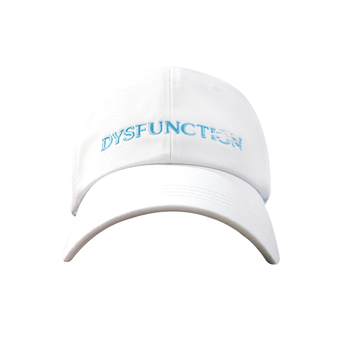 DYSFUNCTION BALL CAP (WHITE)