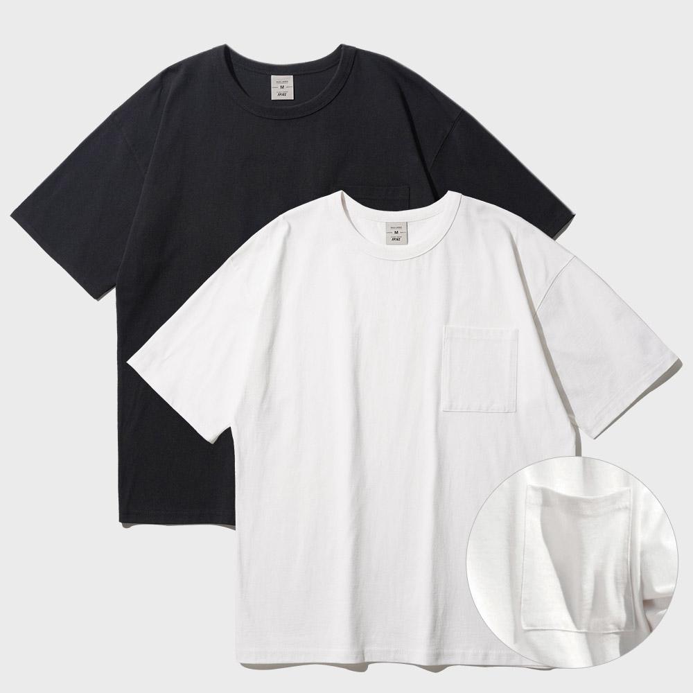 [페플][패키지] 코지 드롭 포켓 반팔티셔츠 10종 패키지 KYST1313