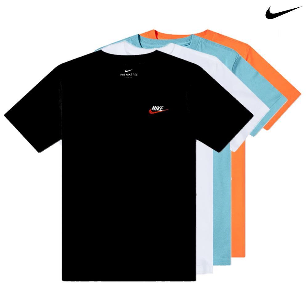 [나이키] NSW 클럽 엠브로이드 반팔 티셔츠 4종 택1