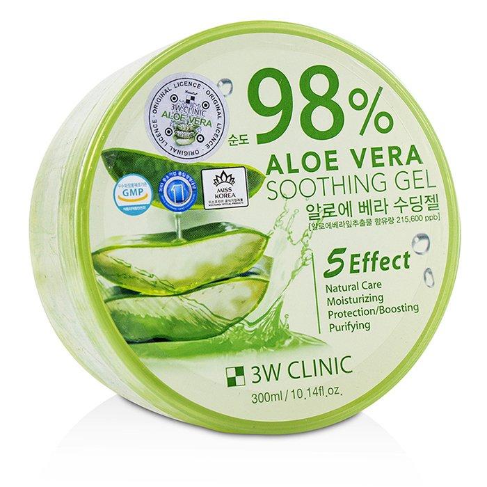 [3W클리닉] 98% 알로에 베라 수딩 젤