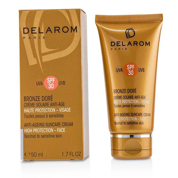 [델라롬] 안티-에이징 썬케어 페이스 크림 SPF 30 - 중성/ 민감성 피부용