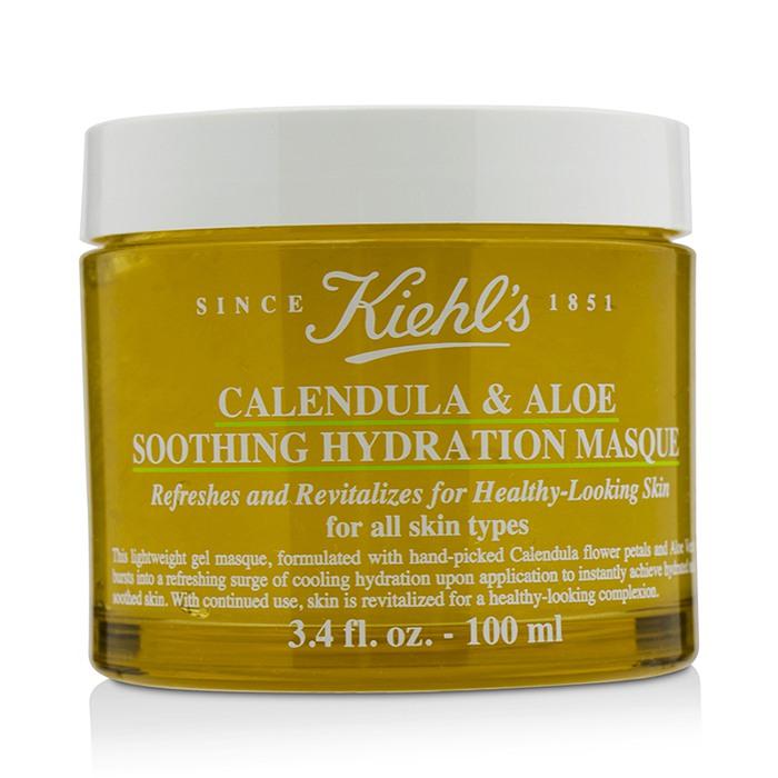 [키엘] 카렌듈라 & 알로에 수딩 하이드레이션 마스크 - 모든 피부 타입용