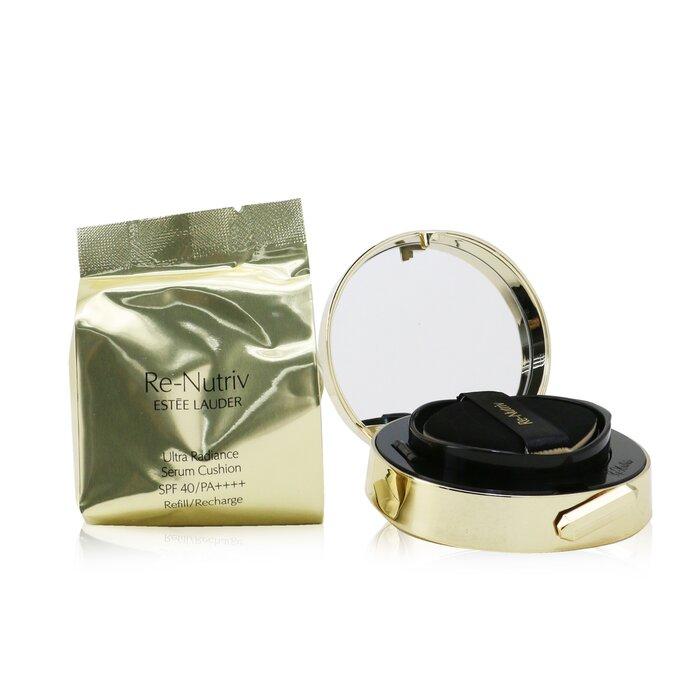 [에스티로더] Re Nutriv Ultra Radiance Serum Cushion SPF 40 with Extra Refill - # 2W0 Warm Vanilla