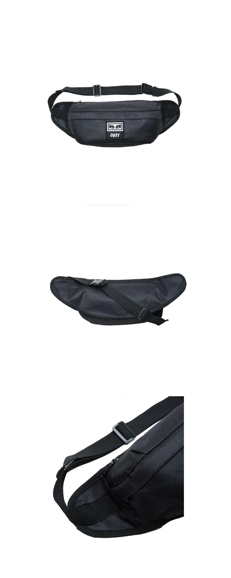 오베이 슬링백 TAKEOVER SLING BAG 100010121 BLACK