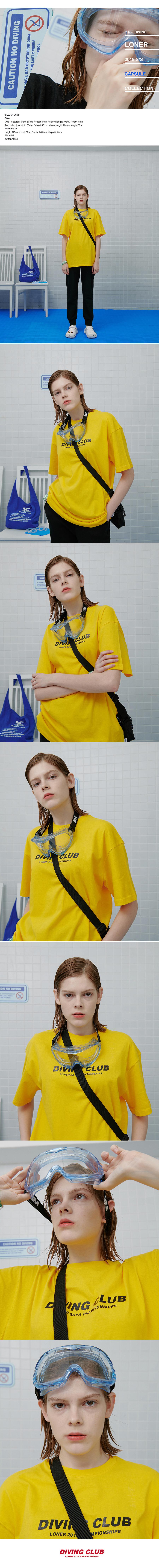 Diving club tshirt-yellow.jpg