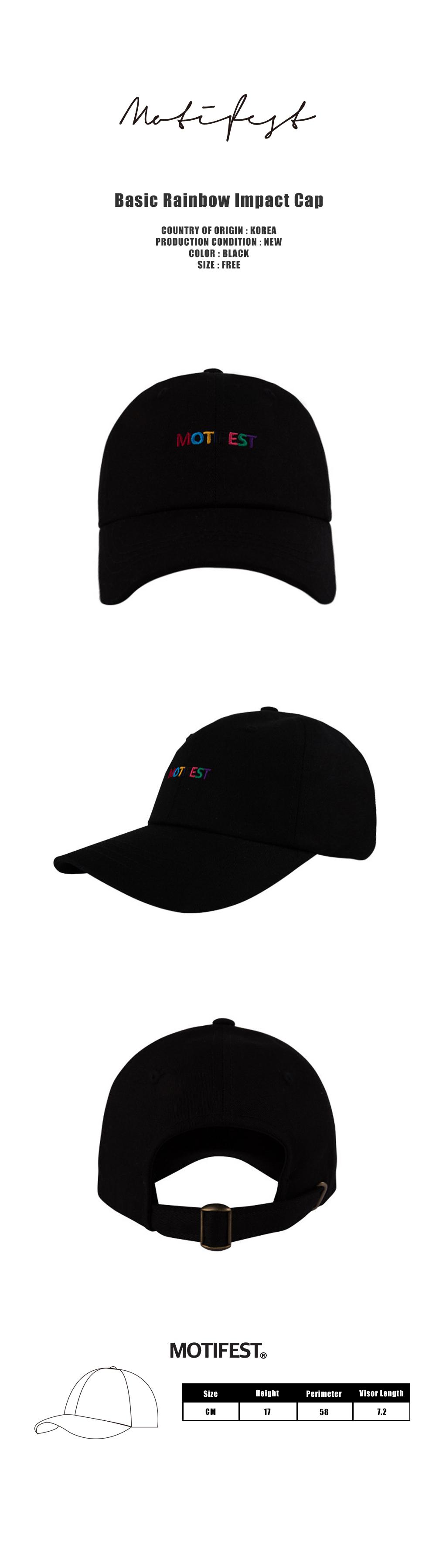 Basic Rainbow Impact Cap Black-1000.jpg