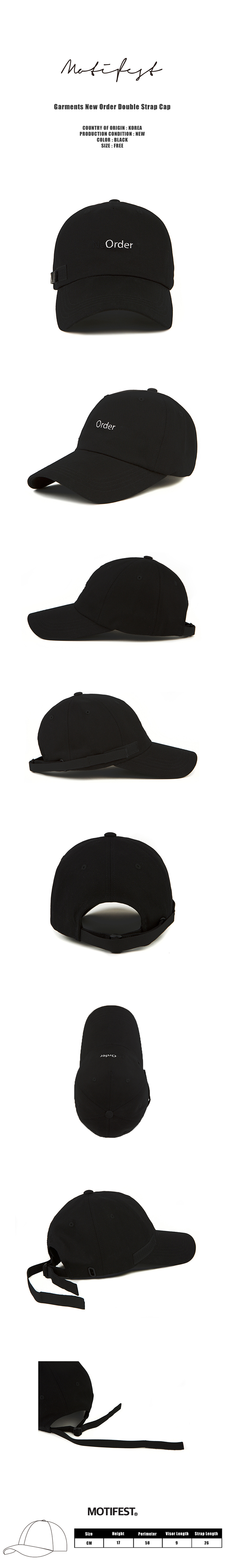 Garments New Order Double Strap Cap Black-1000.jpg