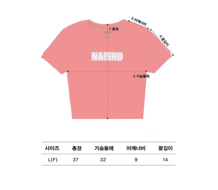 NAISHO CIRCLE Black CROP T-shirt2.jpg
