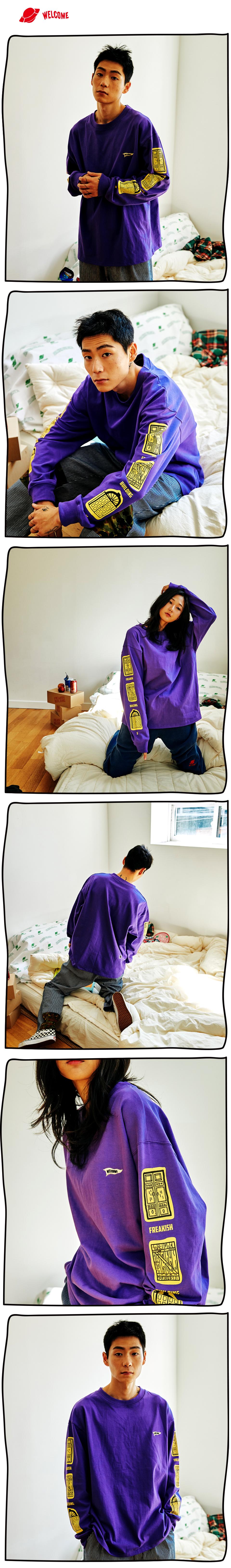 #02 MOORE LONG SLEEVE T-SHIRTS  (VIOLET) 01.jpg