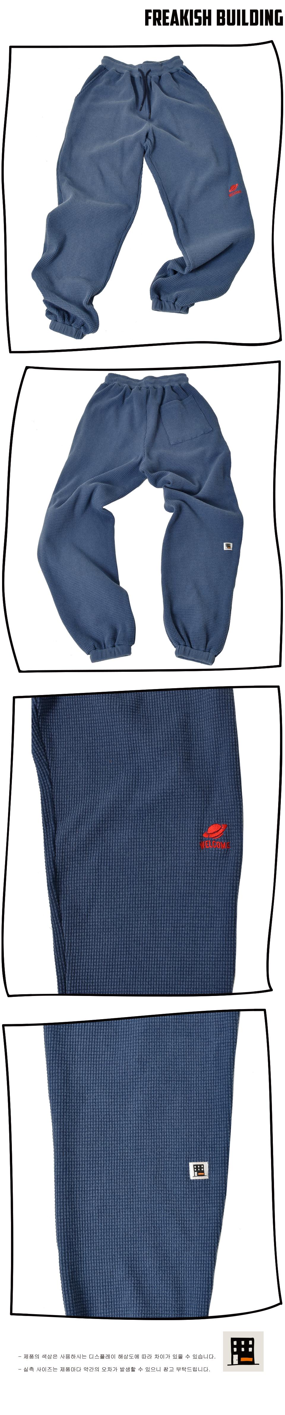 #03 FOLCOM WAFFLE LONG PANTS (NAVY) 03.jpg