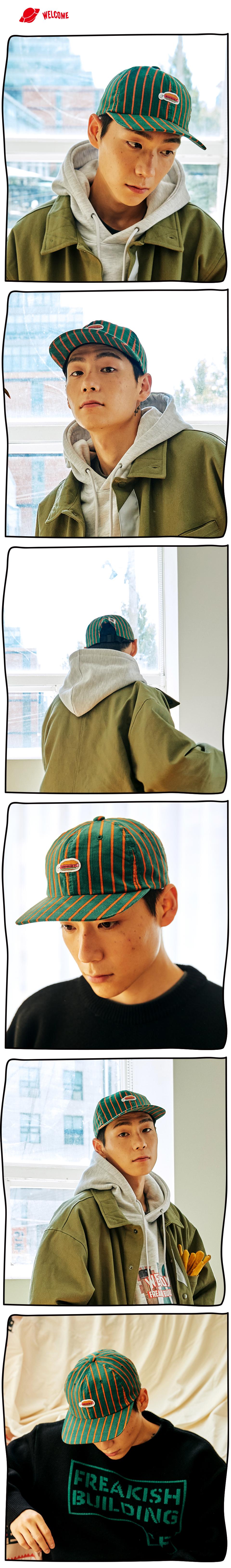 #32 DYNADOG CORDUROY FLAT CAP (GREEN) 01.jpg