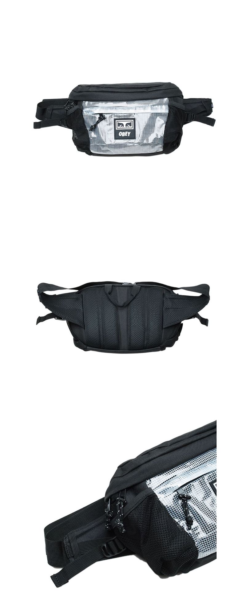 오베이 슬링백 CONDITIONS WAIST BAG II 100010116 BLACK