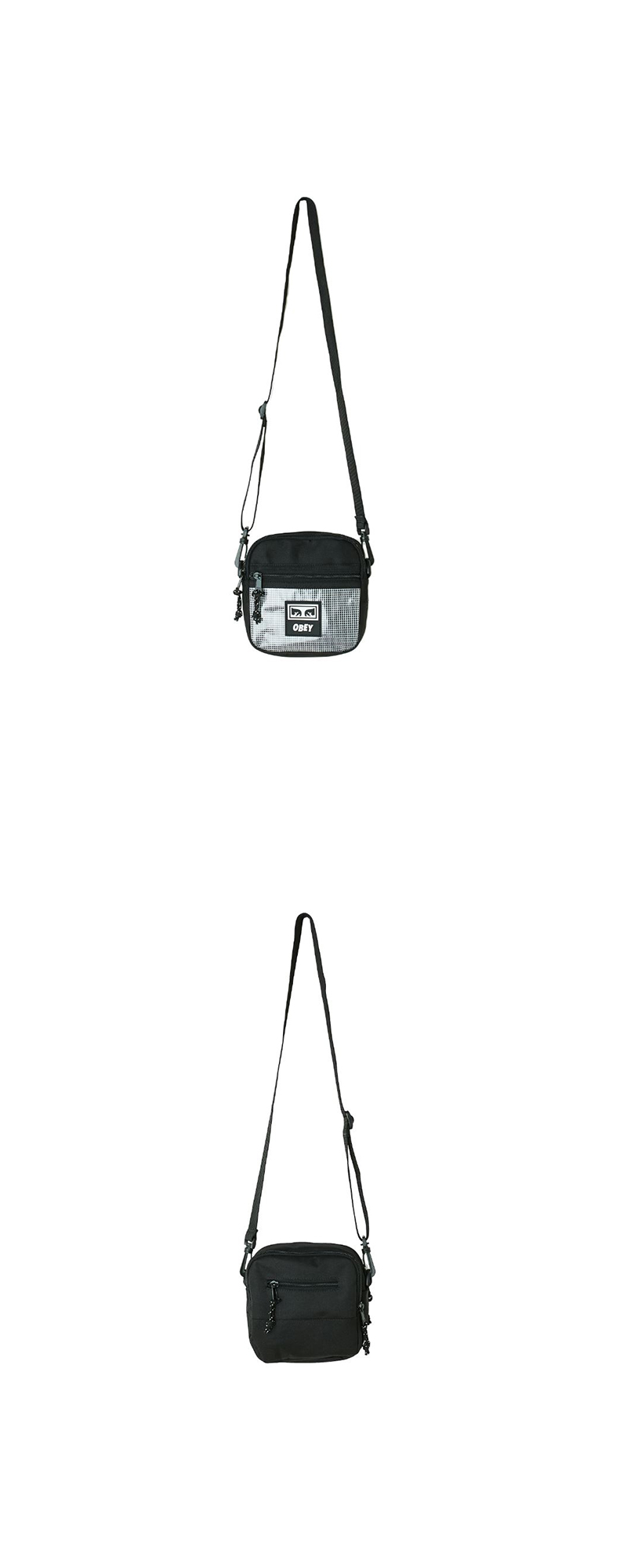 오베이 크로스백 CONDITIONS TRAVELER BAG II 100010117 BLACK