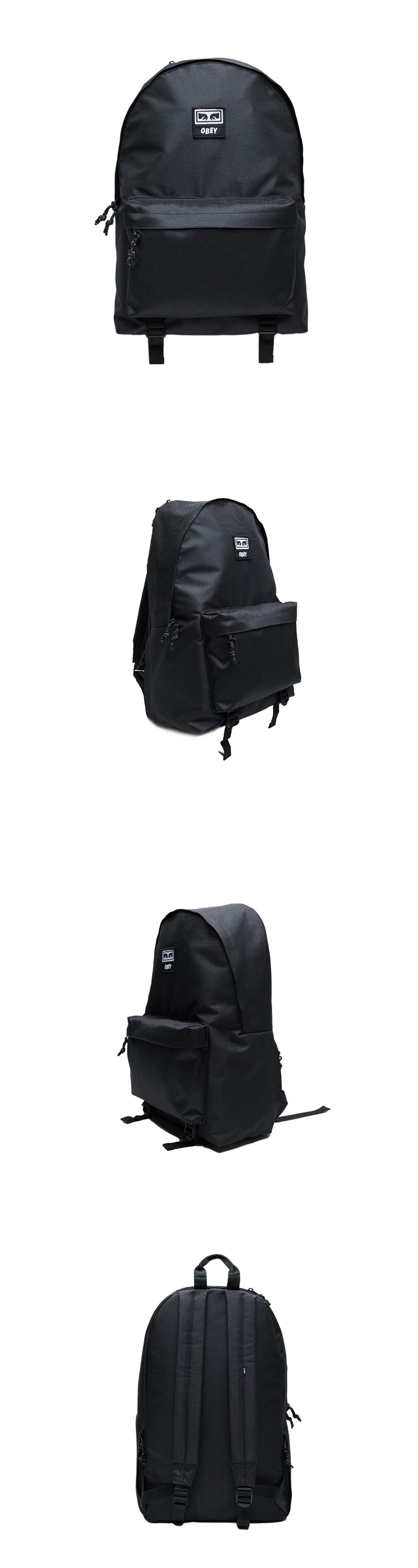 오베이 백팩 TAKEOVER DAY PACK 100010120 BLACK
